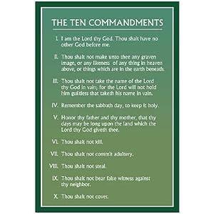 10 commandments dating song 1