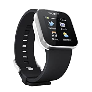 Sony Ericsson SmartWatch AndroidTM watch (Black)