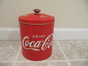 Coca Cola Coke Cookie Jar Tin by