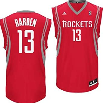 James Harden Houston Rockets Red NBA Youth Revolution 30 Replica Jersey by adidas