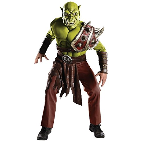GSG Orc Costume Adult World of Warcraft WOW Halloween Fancy Dress