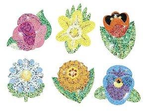 STICKER SPARKLE FLOWERS