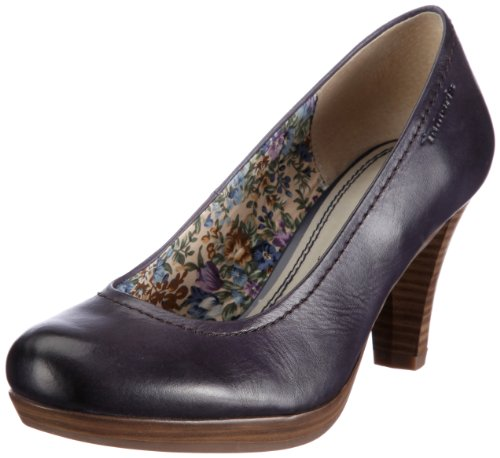 Tamaris 1-1-22410-28, Damen Pumps, Blau (NAVY 805), EU 42
