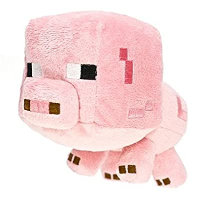 "Minecraft Baby Pig 7"" Plush by Great Deal"