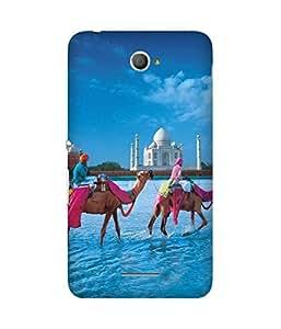 Camels Round Taj Sony Xperia E4 Case