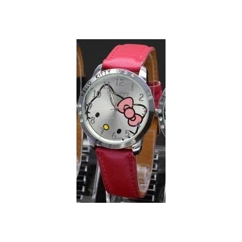 Brand New Kitty Classic Ladies Quartz Wrist Watch   Fuschia