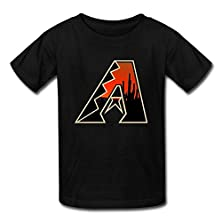 buy Children Boys And Girls Vintage Arizona Diamondbacks Black Sizel