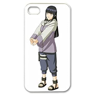 ePcase Lovely Hyuga Hinata in Naruto Printed White Hard Case Cover for Apple iPhone 4&4S