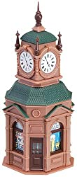 Faller 180583 Clock Tower With News Stand 4 Faces Era I