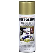 Rust-Oleum 7270830 Metallic Spray, Gold Rush, 11-Ounce