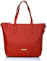 Caprese Charlotte Women's Tote Bag (Red)