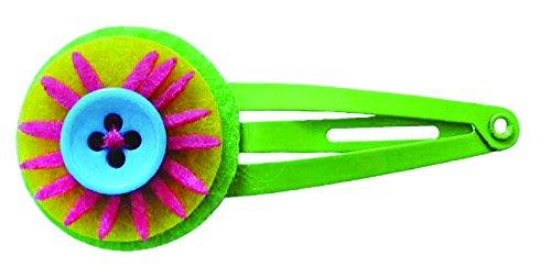 global-affairs-paire-de-barrettes-fluor-flower-vert