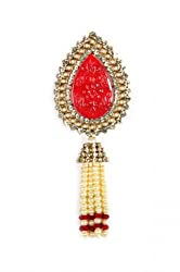 Syonaa Unisex Brooch or Kilangi with Stones and Pearls