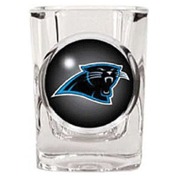 Carolina Panthers Square Shot Glass - 2 oz.