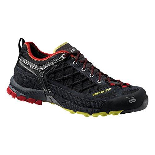 Salewa MS FIRETAIL EVO 00-0000063313, Scarpe da trekking e escursionismo Uomo, Nero (Black/Citro 924), 42