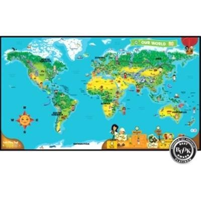 Leapfrog Enterprises Tag Interactive World Map - 1