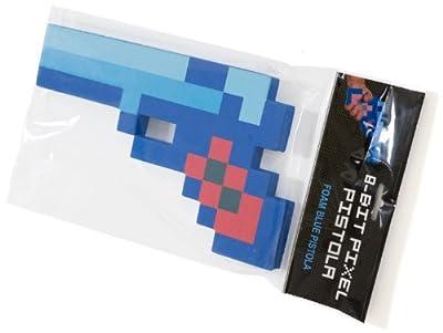 Minecraft Style 8-bit Pixel Foam 10 Toy Gun Blue by Jazwares