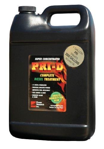 Pri-D Fuel Stabilizer- For Diesel. 1-Gallon Size Bottle Treats 2040 Gallons