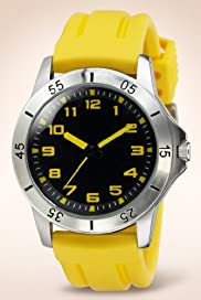 Round Face Adjustable Strap Analogue Sports Watch [T09-2196-S]