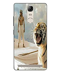 Snazzy Printed Back Cover for Lenovo Vibe K5
