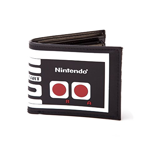 Nintendo Controller Official New retro black Bifold Wallet