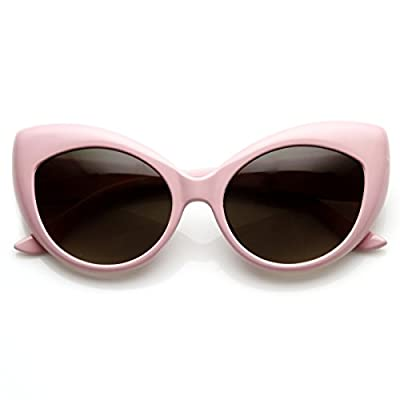Cat Eye Glasses Light Pink