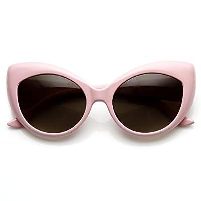 Cat Eye Glasses Light Pink