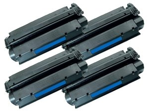 Compatible HP 15A (C7115A) Toner Cartridge: 4-Pack for Canon LBP 1210 HP LaserJet 1000 1005 1200 1200n 1200se 1220 1220se 3300 3300mfp 3310mfp 3320mfp 3320n mfp 3330mfp 3380