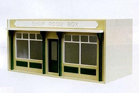 Maison de poupées plat paquet non peinte Shop Pub Café chambre Boîte pour 1:12 miniatures