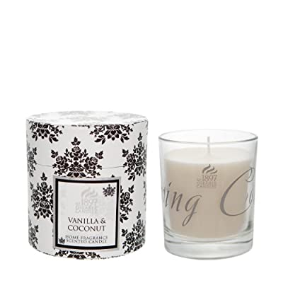 Shearer Candles SCD821 30 cl Spring Couture Vanilla and Coconut Scented Candle Jar from Shearer Candles