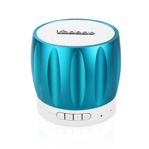 Yoobao Ybl202 Portable Wireless Bluetooth Mini-Speaker With Rechargeable Battery Bulit-In Speakerphone Surpport Tf Memory Card Playing And Radio Function Blue