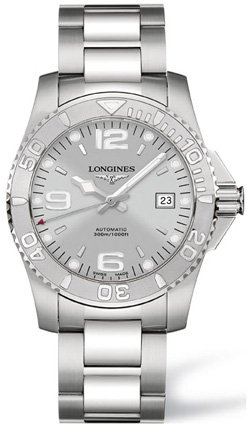 Longines Watches Longines Sport Collection Hydroconquest Automatic Water Resistant 1000 feet Men's Watch
