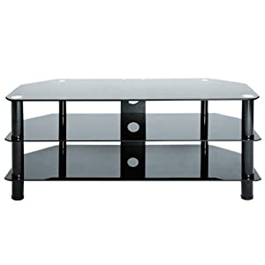 Cheap  Levv TV8105B Tv Stand for up to 50 inch LCD and Plasma Screens