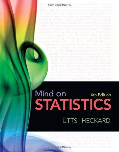 Mind on Statistics (Available Titles Aplia)