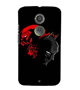 EPICCASE Bloody Spat Mobile Back Case Cover For Moto X 2nd Gen (Designer Case)