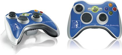 Skinit Duke University Blue Devils Vinyl Skin for 1 Microsoft Xbox 360 Wireless Controller at Amazon.com