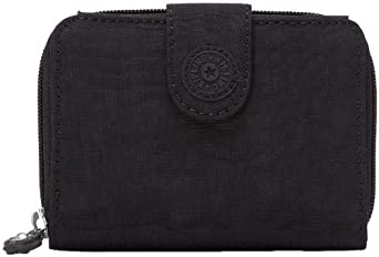 Kipling New Money Deluxe Wallet, Black, One Size