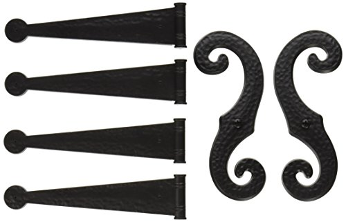 Decorative Vinyl Shutter Hinges And S Holdback Hooks For Exterior Decorative Shutters Black Set