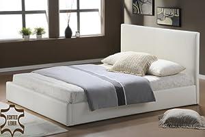 Schlafzimmer Betten Doppel Bett Ehebett Kingsize Lederbett