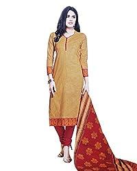 SFZ Fashion Cotton Checkered Salwar Suit Material (Un-stitched)