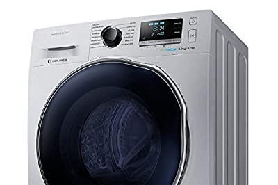 Samsung WD80J6410AS/TL Fully-automatic Front-loading Washing Machine (8 Kg, 1 Star Rating, Sliver)