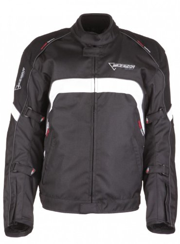 Modeka hawai veste de moto noir/blanc taille xXXL