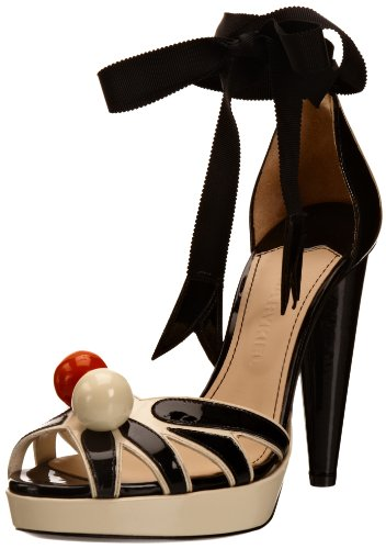 Sonia Rykiel Women's Black Platform Heels 5 UK