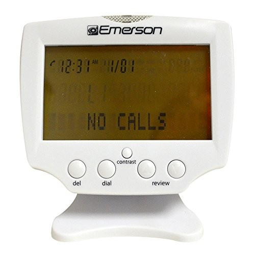 Emerson EM60 Large Display Talking Caller ID Box With 60 Numbers Memory (Caller Id Display compare prices)