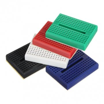 Bheema Mini Solderless Prototype Breadboard 170 Points For Arduino Shield - Blue