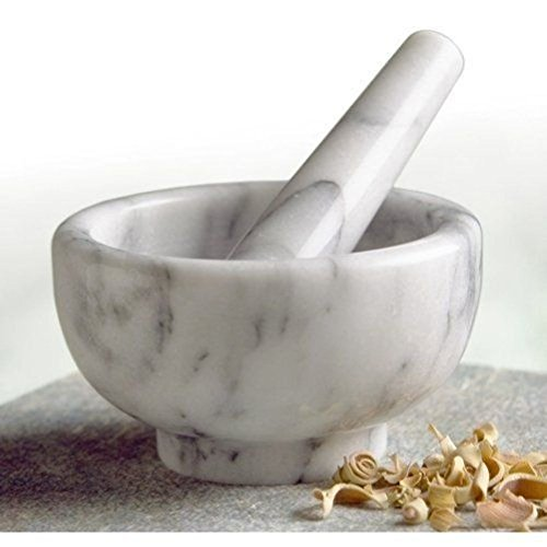 White Marble Mortar and Pestle (Round Rolling Beverage Cooler compare prices)
