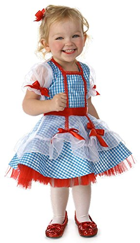 Big Girls' Wizard of Oz Dorothy Glitter Costume