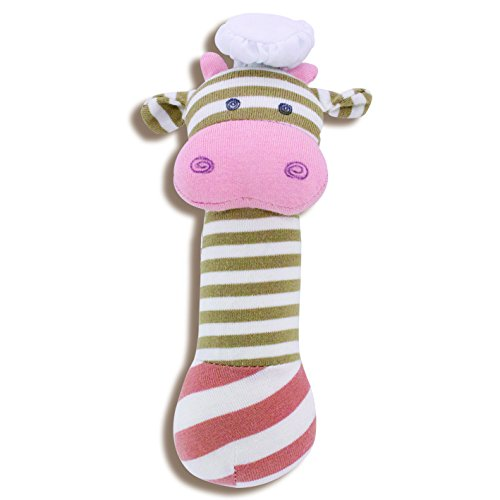 Organic Farm Buddies, Chef Cow Squeaky Toy