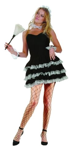 Adult Sexy French Maid Size Large (8-10)