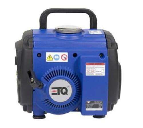ETQ IN1000I 1,000 Watt 63.1cc 2-Stroke Gas Powered Portable Inverter Generator